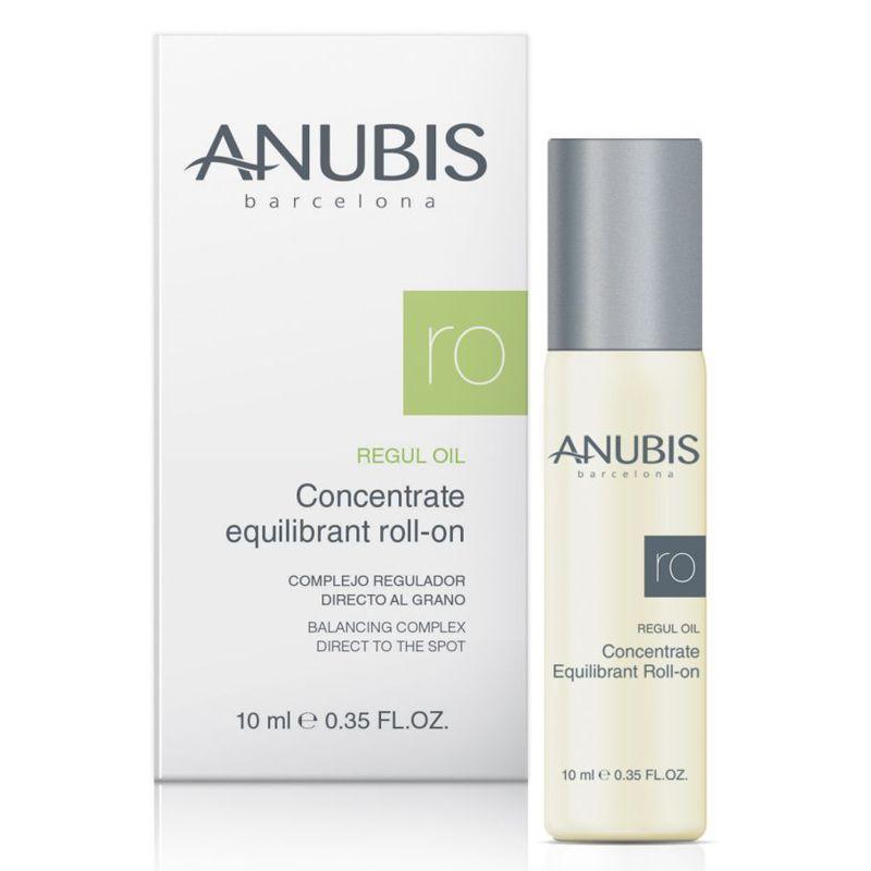 Concentrat Roll On pentru Ten Gras sau Acneic - Anubis Regul Oil Concentrate Equilibrant Roll-On 10 ml imagine produs