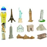 Set 10 figurine - In jurul lumii - Safari LTD