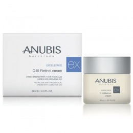 Crema Regeneranta Q10 si Retinol - Anubis Excellence Q10 Retinol Cream 60 ml