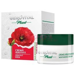 Crema Hidratanta - Gerovital Plant Moisturizing Cream, 50ml