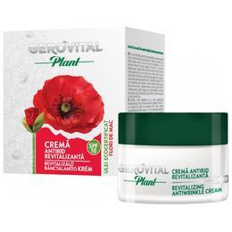Crema Antirid Revitalizanta SPF 10 - Gerovital Plant Revitalizing Antiwrinkle Cream SPF 10, 50ml
