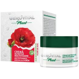 Crema Nutritiva Multivitamine - Gerovital Plant Multivitamin Nourishing Cream, 50ml