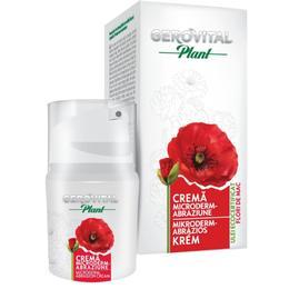Crema Microderm-Abraziune - Gerovital Plant Microderm-Abrasion Cream, 30ml