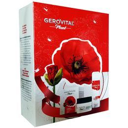 Caseta Cadou Gerovital Plant - Crema Hidratanta 50ml, Deodorant Antiperspirant Fancy 150ml