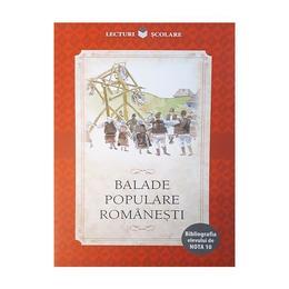 Balade populare romanesti, editura Litera