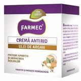 Crema Antirid cu Ulei de Argan Farmec, 50ml