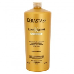Balsam Nutritiv - Kerastase Elixir Ultime Oleo-Complexe Beautifying Oil Conditioner 1000 ml