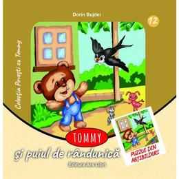 Tommy si puiul de randunica - Dorin Bujdei, editura Ars Libri