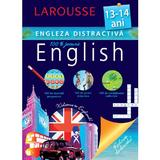 Larousse. Engleza distractiva 13-14 ani, editura Meteor Press