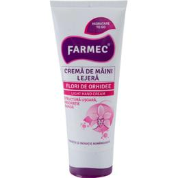 Crema de Maini Lejera cu Extract de Orhidee - Farmec Light Hand Cream, 100ml