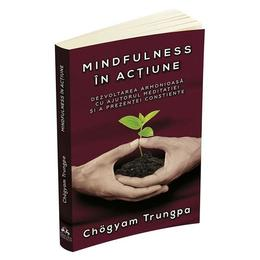 Mindfulness in actiune - Chogyam Trungpa, editura Herald