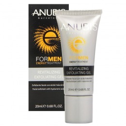 Gel Exfoliant Barbatesc - Anubis For Men Revitalizing Exfoliating Gel 20 ml