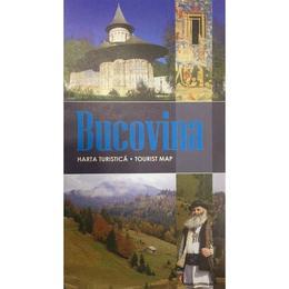Bucovina - Harta turistica, editura Schubert & Franzke
