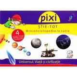 Pixi stie-tot - Minienciclopedie la cutie - Universul. Viata si civilizatie, editura All