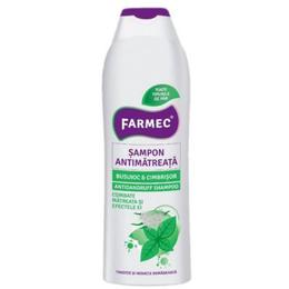 Sampon Antimatreata Busuioc si Cimbrisor - Farmec Antidandruff Shampoo, 400ml