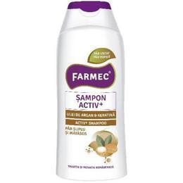 Sampon Activ+ cu Ulei de Argan si Keratina - Farmec Activ+ Shampoo, 200ml