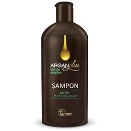 Sampon Farmec Argan Plus cu Ulei de Masline, 250ml