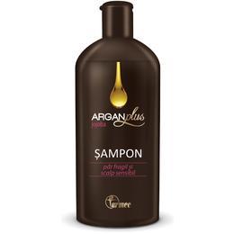Sampon Farmec Argan Plus cu Ulei de Jojoba, 250ml