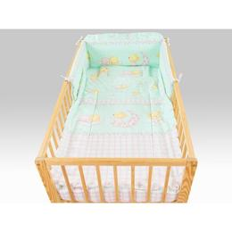 Lenjerie Teddy Stelute Turquoise M1 4 Piese 120x60