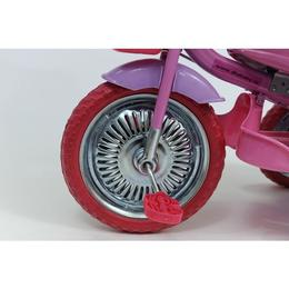 Tricicleta copii Dhs cu roti de metal Merry Ride Roz Roz