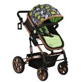 Carucior transformabil 2 in 1 Moni Pavo Green