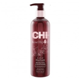 Balsam Protector Par Vopsit - CHI Farouk Rose Hip Oil Color Nurture Protecting Conditioner 340ml
