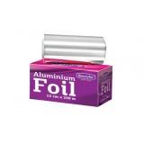 Rola Folie Aluminiu Argintie Suvite - Beautyfor Aluminium Foil for Hairdressing 14 microni, 0.12m x 250m