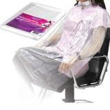 Pelerina de unica folosinta din polietilena - Beautyfor Disposable Polyethylene Peignoir, 135cm x 90cm, 50 buc