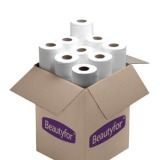Rola individuala cearceaf cu 2 straturi - Beautyfor 2 ply Couch Rolls, 0.6m x 50m, individual rolls