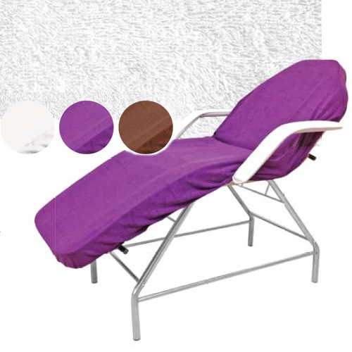 Cearceaf mov din bumbac - Beautyfor Couch Cover, purple, 100 x 215cm imagine produs