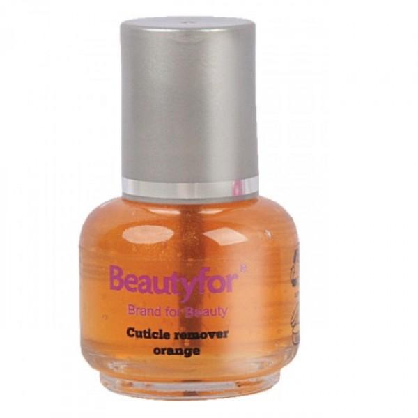 Solutie Indepartare Cuticule - Beautyfor Cuticle Remover, Orange, 15ml imagine produs