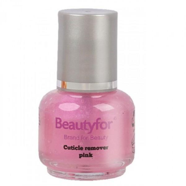 Solutie Indepartare Cuticule - Beautyfor Cuticle Remover, Pink, 15ml imagine produs