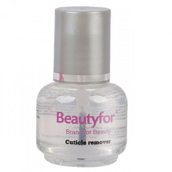 Solutie Indepartare Cuticule - Beautyfor Cuticle Remover, Transparent, 15ml esteto.ro