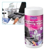 Servetele Igienice Curatare Suprafete - Beautyfor Hygienic Surface Cleaning Wipes, 100 buc