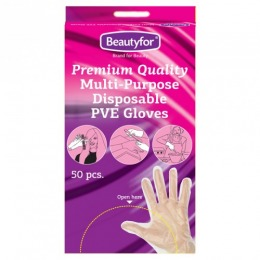 Manusi Multifunctionale - Beautyfor Multi Purpose Gloves PVE, 50 buc