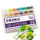 Conuri Dentare Gutta Percha Prima asortate 45-80, 120 buc