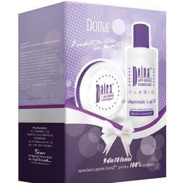 Caseta Cadou Doina Farmec - Lapte Nutritiv Vitaminizant Clasic 200ml, Crema Nutritiva Vitaminizanta 75ml