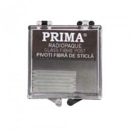 Pivoti Endodontici Fibra de Sticla Radio Opac Prima, marime 4, 10 buc
