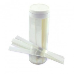 Benzi de plastic (mylar) transparente Prima pentru realizarea matricilor, 1 x 10cm, 1000 buc