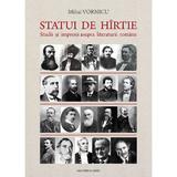 Statui de hirtie - Mihai Vornicu, editura Casa Cartii De Stiinta