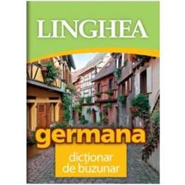Germana. Dictionar de buzunar Ed.2018, editura Linghea