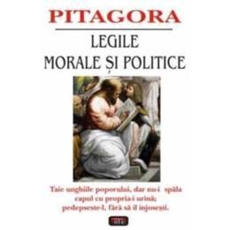 Legile morale si politice - Pitagora, editura Antet