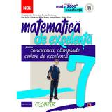 Matematica de excelenta - Clasa 7 - Pentru concursuri, olimpiade si centre de excelenta - Maranda Lint, editura Paralela 45