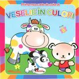 Prima mea carte de colorat - Veselie in culori, editura Aramis