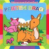 Prima mea carte de colorat - Prieteni Dragi, editura Aramis