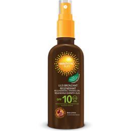 Ulei Bronzant Regenerant SPF 10 - Gerovital Sun Regenerating Tanning Oil, 150ml