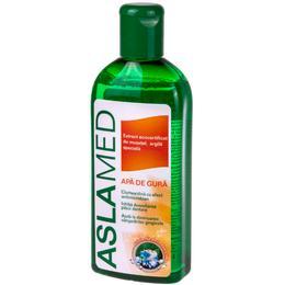 Apa de Gura Aslamed cu Extract Ecocertificat de Musetel si Argila Speciala, 250ml