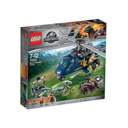 LEGO Jurassic World - Urmarirea elicopterului albastru (75928)