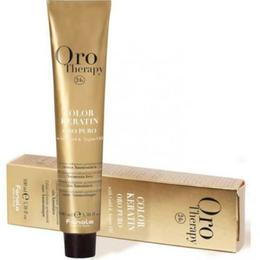 Vopsea fara amoniac - Fanola Oro Therapy Color Keratin - 10.00 blond platinat intens, 100ml