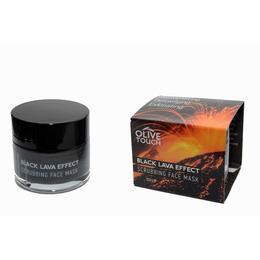 Masca Exfolianta Cu Efect De Lava Neagra Olive Touch, 50 ml